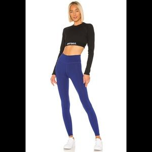 Nike One Tight in Deep Royal Blue